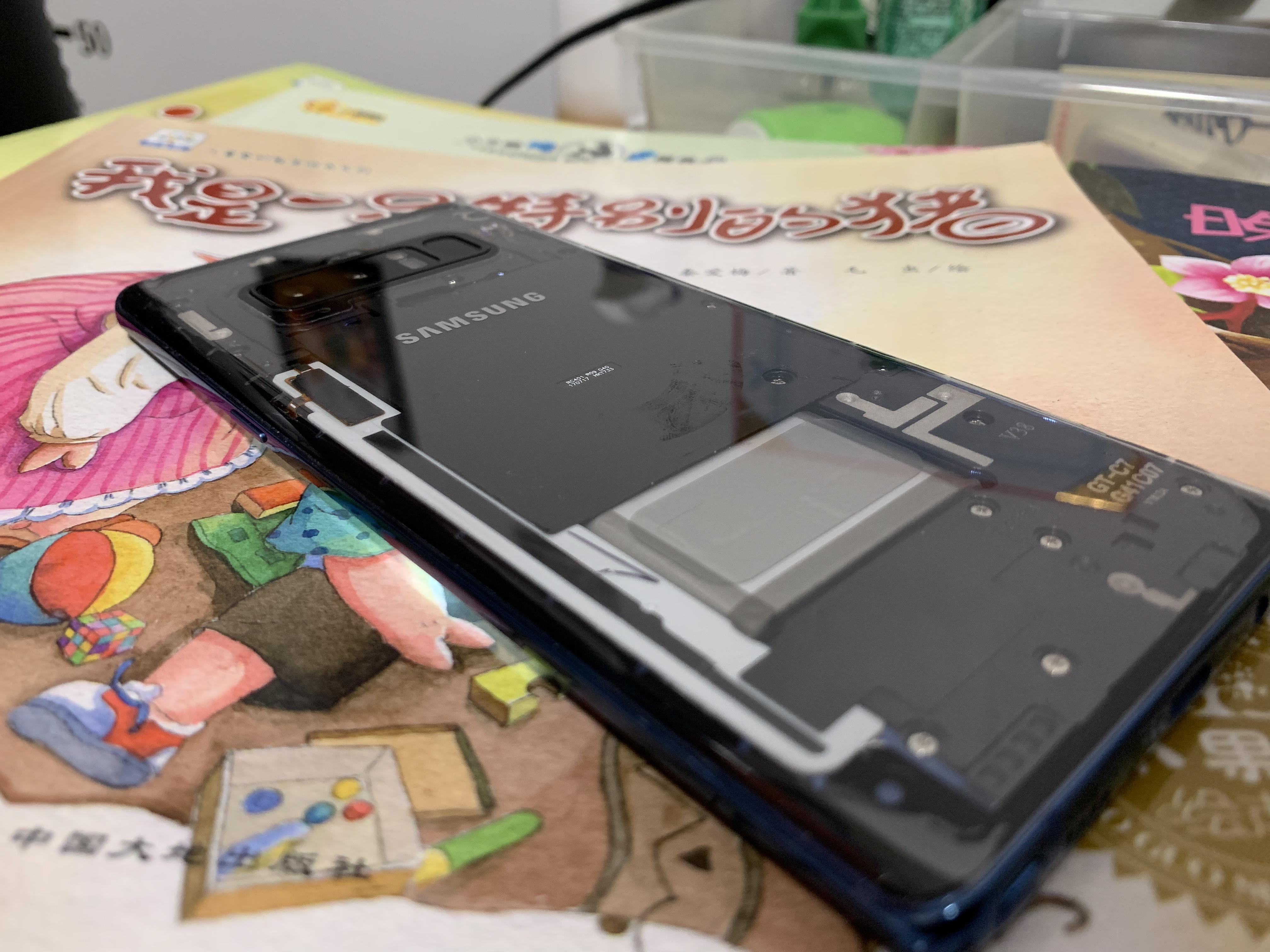 三星手机电池充电次数清零Samsung note8换电池重置battery cycle