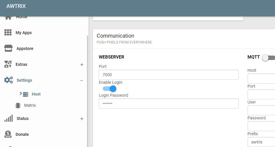 阿里云/vps安装java8+AWTRIX2.0服务端(类似lametric的像素智能时钟)