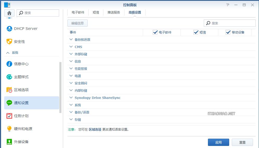 群晖利用新版Server酱开启系统信息 企业微信推送服务
