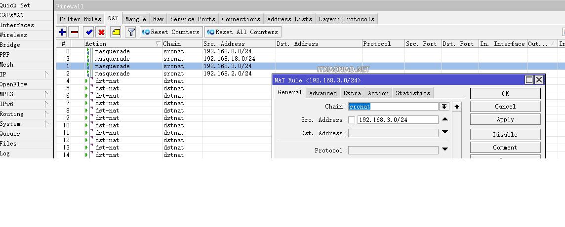 ROS 软路由 集客AP 水星SG105 Pro VLAN 划分隔离 抑制网络风暴